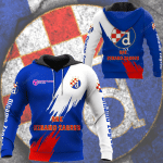 GNK Dinamo Zagreb 3D All Over Print Hoodie, Zip-up Hoodie