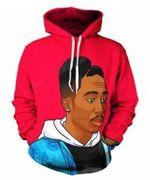 Hip hop Tupac 2PAC 3D All Over Print Hoodie, Zip-up Hoodie