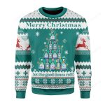 Let The Good Times Roll Ugly Christmas Sweater, All Over Print Sweatshirt