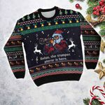 For Pet Lovers Ugly Christmas Sweater, All Over Print Sweatshirt