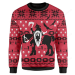 Death Dealer Ugly Christmas Sweater, All Over Print Sweatshirt