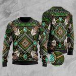 Naumaddic Arts Ugly Christmas Sweater, All Over Print Sweatshirt