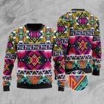Full Color Thunderbird Ugly Christmas Sweater, All Over Print Sweatshirt