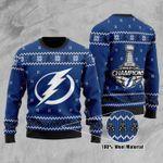 Tampa Bay Lightning Ugly Christmas Sweater, All Over Print Sweatshirt