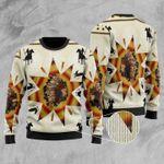Horse Ugly Christmas Sweater, All Over Print Sweatshirt