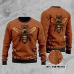 Bee Ugly Christmas Sweater, All Over Print Sweatshirt