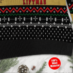 Merry Liftmas Jesus Ugly Christmas Sweater, All Over Print Sweatshirt