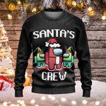 Among Us Ugly Christmas Sweater, All Over Print Sweatshirt