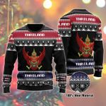 Thailand Ugly Christmas Sweater, All Over Print Sweatshirt