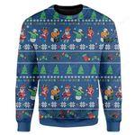 Christmas Band Ugly Christmas Sweater, All Over Print Sweatshirt