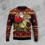Santassic Park Ugly Christmas Sweater, All Over Print Sweatshirt