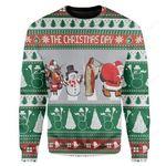 The Christmas Day Ugly Christmas Sweater, All Over Print Sweatshirt