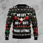 No Lift No Gift Ugly Christmas Sweater, All Over Print Sweatshirt