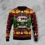 Peace On Earth Ugly Christmas Sweater, All Over Print Sweatshirt