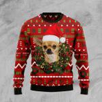 Dog Ugly Christmas Sweater, All Over Print Sweatshirt