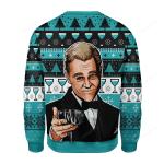Wine Glass Ugly Christmas Sweater, All Over Print Sweatshirt