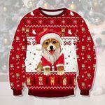 Corgi Dog Ugly Christmas Sweater, All Over Print Sweatshirt