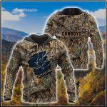 Camo Hunting Dallas Cowboys 3D All Over Print Hoodie, Zip-up Hoodie