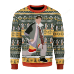 Could I Be Wearing Anymore Clothes Ugly Christmas Sweater, All Over Print Sweatshirt