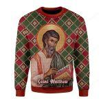 Matthew Ugly Christmas Sweater, All Over Print Sweatshirt