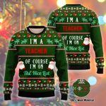 I Am A Teacher Ugly Christmas Sweater, All Over Print Sweatshirt