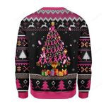 Breast Cancer Awareness Ugly Christmas Sweater, All Over Print Sweatshirt