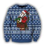 Scottish Santa Xmas Ugly Christmas Sweater, All Over Print Sweatshirt