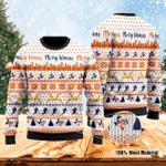 Merry Hitmas Ugly Christmas Sweater, All Over Print Sweatshirt
