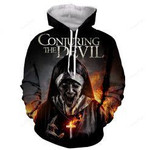 The Nun The Conjuring The Devil 3D All Over Print Hoodie, Zip-up Hoodie