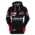 Lexus GA 200 Racing 3D All Over Print Hoodie, Zip-up Hoodie