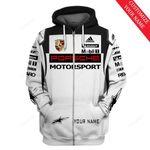 Personalized Porsche Motorsport Racing Custom 3D All Over Print Hoodie, Zip-up Hoodie