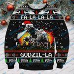 Godzilla Ugly Christmas Sweater, All Over Print Sweatshirt
