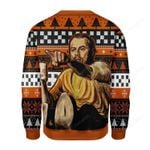 Leo Pointing Meme Ugly Christmas Sweater, All Over Print Sweatshirt