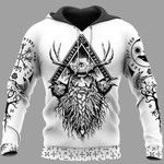 Odin Raven And Yggdrasil 3D All Over Print Hoodie, Zip-up Hoodie