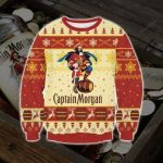 Captain Morgan Ugly Christmas Sweater, All Over Print Sweatshirt