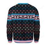 Transgender Pride Flag Ugly Christmas Sweater, All Over Print Sweatshirt