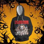 Halloween Horror Movie Marathon 3D All Over Print Hoodie, Zip-up Hoodie