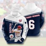 Washington Nationals 3D All Over Print Hoodie, Zip-up Hoodie