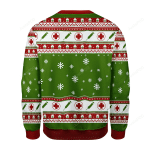 The Grinch Nurse Ugly Christmas Sweater, All Over Print Sweatshirt