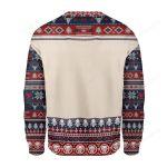 Santa And Chadwick Boseman Ugly Christmas Sweater, All Over Print Sweatshirt