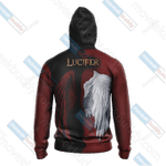 Lucifer New Lifestyle 3D All Over Print Hoodie, Zip-up Hoodie