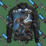 Halo - Elite 3D All Over Print Hoodie, Zip-up Hoodie