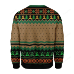 Heart Chakra Ugly Christmas Sweater, All Over Print Sweatshirt