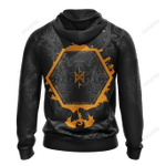 The Lord of the Rings The Hobbit 3D All Over Print Hoodie, Zip-up Hoodie