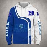 Duke Blue Devils 3D All Over Print Hoodie, Zip-up Hoodie