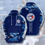 Toronto Blue Jays 3D All Over Print Hoodie, Zip-up Hoodie
