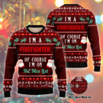 I Am A Firefighter Ugly Christmas Sweater, All Over Print Sweatshirt