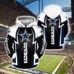 Dallas Cowboys 3D All Over Print Hoodie, Zip-up Hoodie