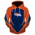 Denver Broncos 3D All Over Print Hoodie, Zip-up Hoodie