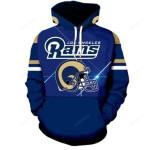 Los Angeles Rams 3D All Over Print Hoodie, Zip-up Hoodie
